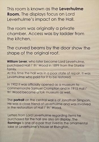 Copy of Inside Hall i' th' wood 011