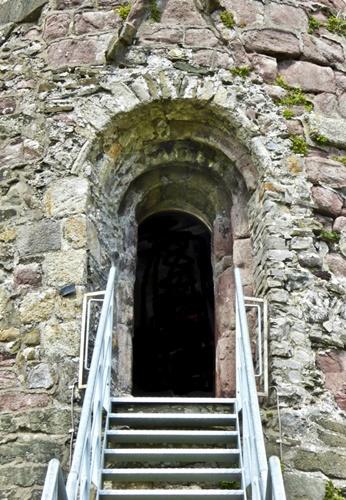 Kildare Round Tower doorway