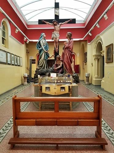 Carmelite church atrium - Copy