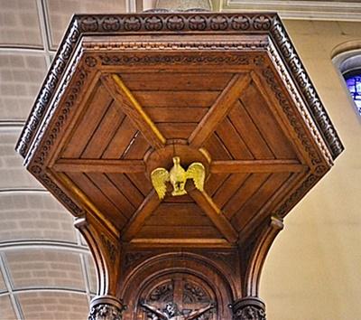 Carmelite church pulpit 2 - Copy