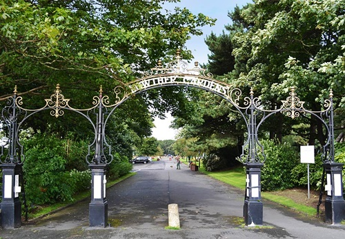 Lowther gardens entrance
