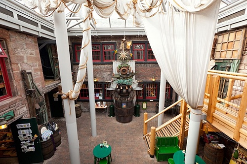 Rum story courtyard